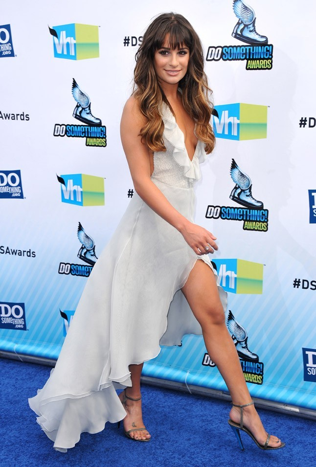 Lea Michele à la cérémonie des Do Something Awards le 19 août 2012 à Santa Monica