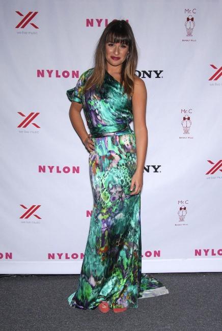 Lea Michele, Los Angeles, 15 septembre 2012