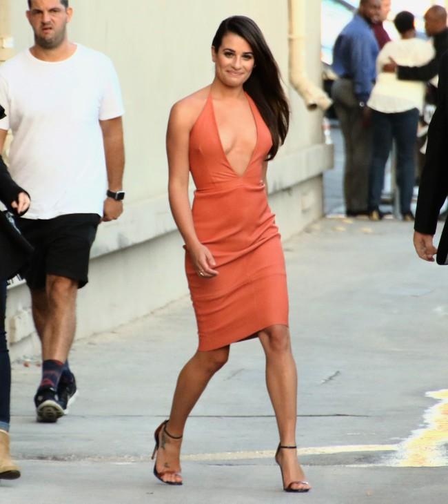 Lea Michele à Hollywood le 22 septembre 2015