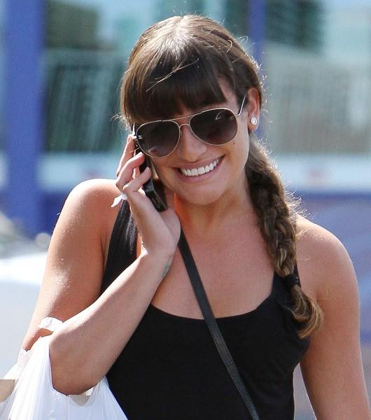 Lea Michele le 31 août 2012 à Los Angeles