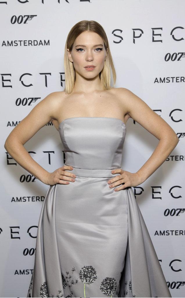 Léa Seydoux à Amsterdam le 28 octobre 2015