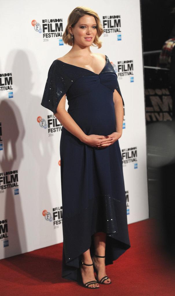 """Léa Seydoux lors de la première du film """"Juste la fin du monde"""""""