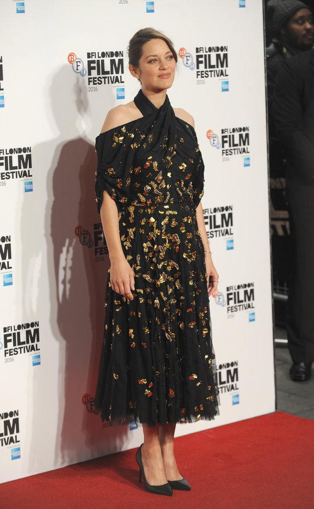 """Marion Cotillard lors de la première du film """"Juste la fin du monde"""""""
