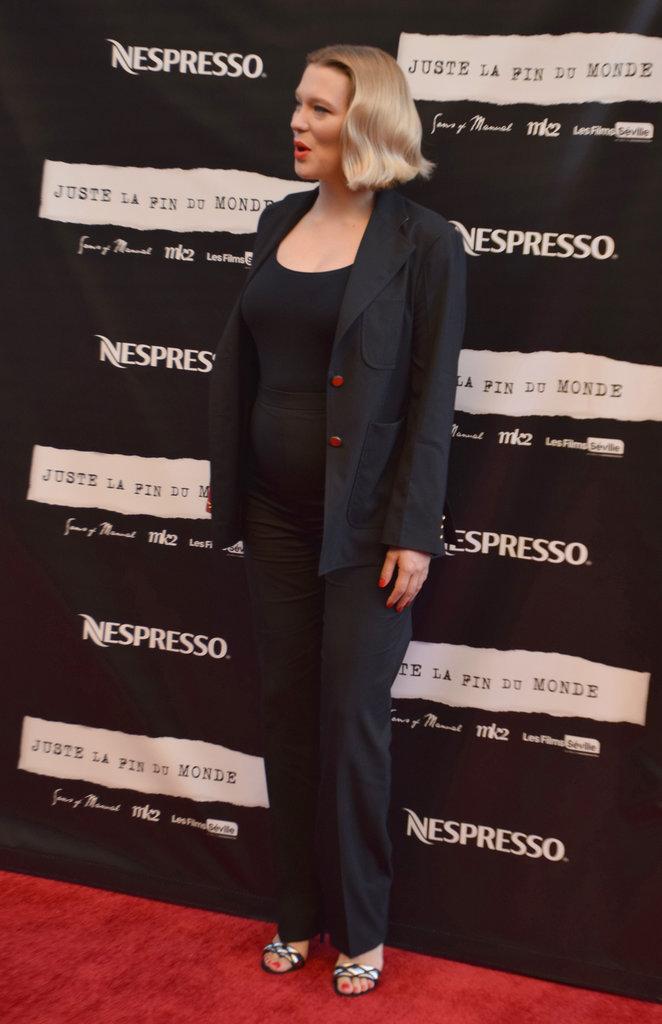 Léa Seydoux à Toronto le 12 septembre 2016