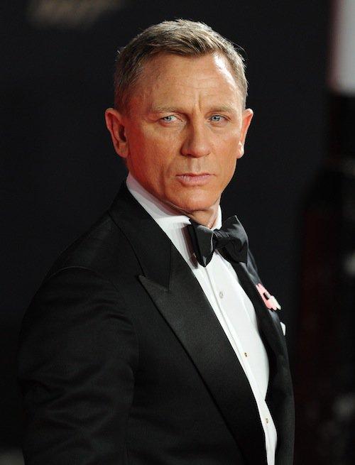 Daniel Craig à la première de Spectre à Londres, le 26 octobre 2015