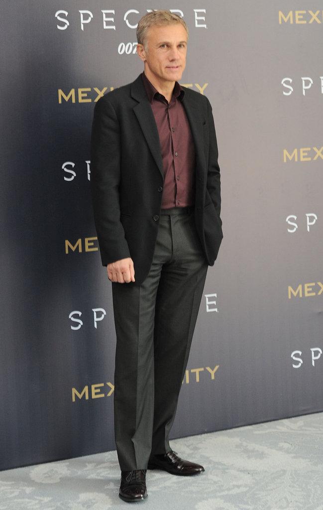 Christoph Waltz le 1er novembre 2015