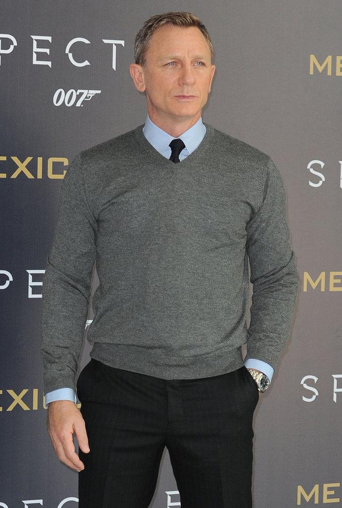 Daniel Craig le 1er novembre 2015