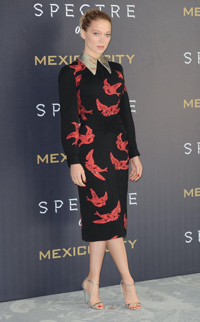 Léa Seydoux le 1er novembre 2015