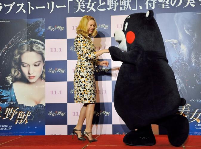 Léa Seydoux à Tokyo le 4 septembre 2014
