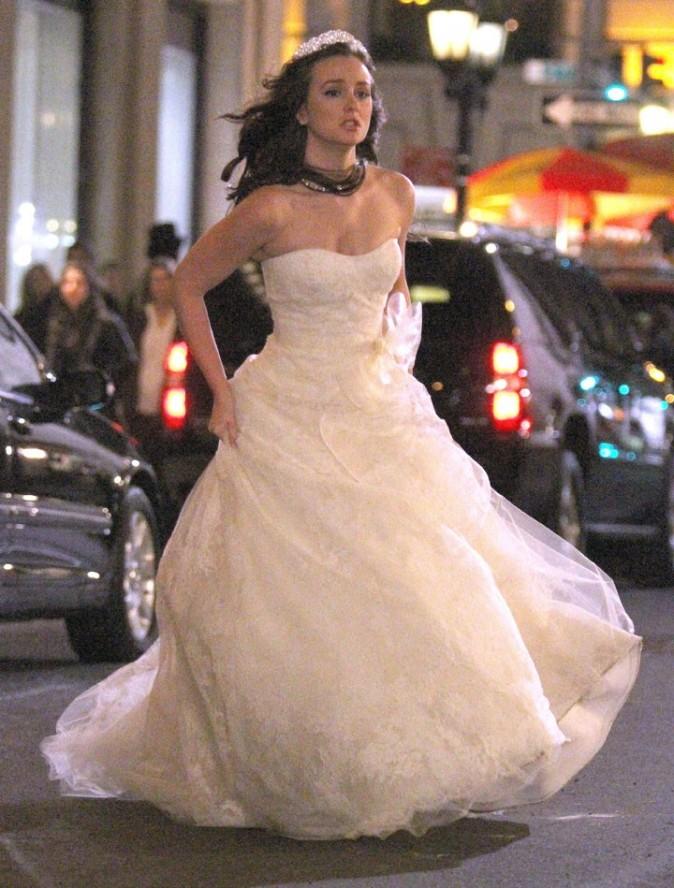 Une robe de maréie taillé pour elle !