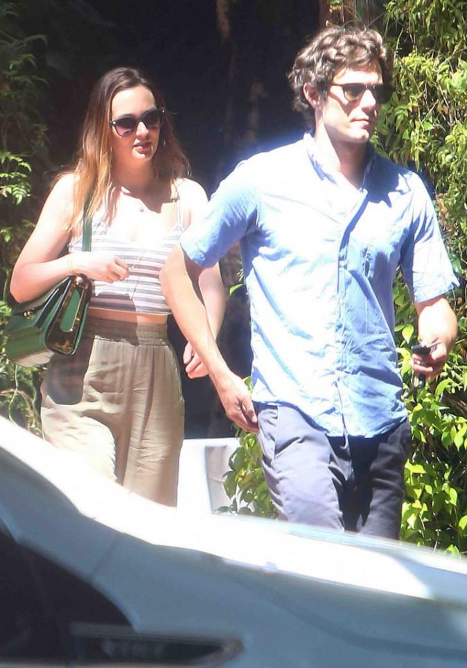 Leighton Meester et Adam Brody : dîner en tête-à-tête pour les amoureux !