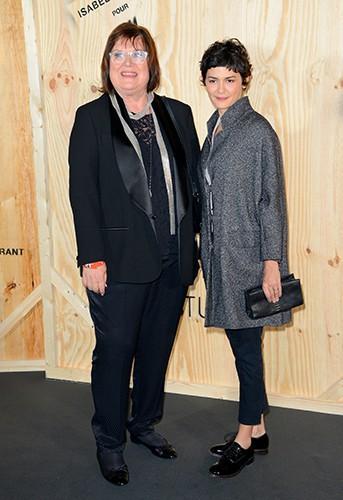 Margareta Van Den Bosch et Audrey Tautou à Paris le 24 octobre 2013