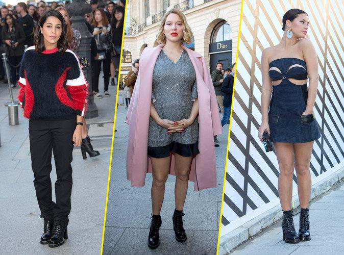 Photos : Leïla Bekhti, Léa Seydoux, Adèle Exarchopoulos : les frenchies du défilé Vuitton !