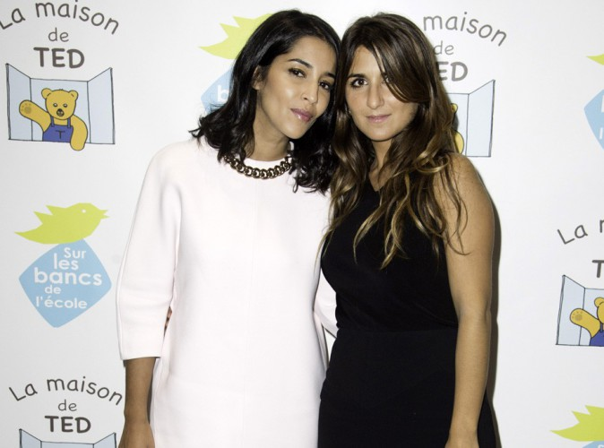 Le�la Bekhti : marraine styl�e en Victoria Beckham, elle fait le plein de stars pour son association !