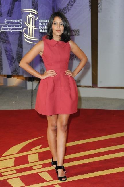 Lelia Bekhti lors du Festival International du Film de Marrakech, le 4 décembre 2011.