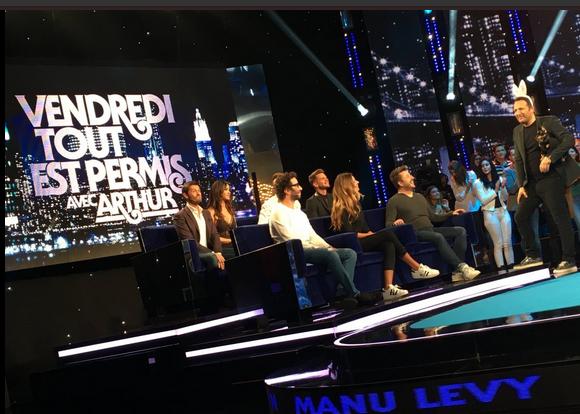 Photos : Leila Ben Khalifa, Christophe Beaugrand, Keen'V, Bruno Guillon, Manu Lévy et Camille Cerf dopent les audiences d'Arthur !
