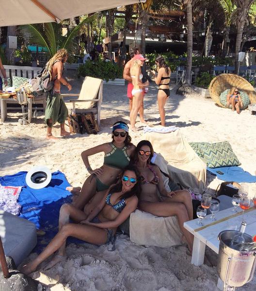 Photos : Leila Ben Khalifa : son nouvel an torride au Mexique !