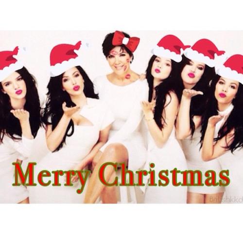 """Kris Jenner: """"Merry Christmas!!!!!! #love #family #fabulous #blessed"""""""