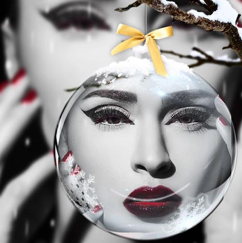 """Leila Ben Khalifa : """"Joyeux Noël et bonnes fêtes a tous les amours"""""""