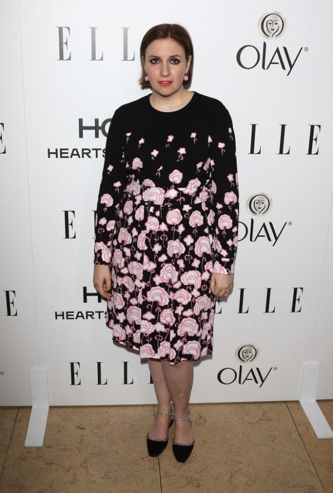 Lena Dunham le 13 janvier 2015