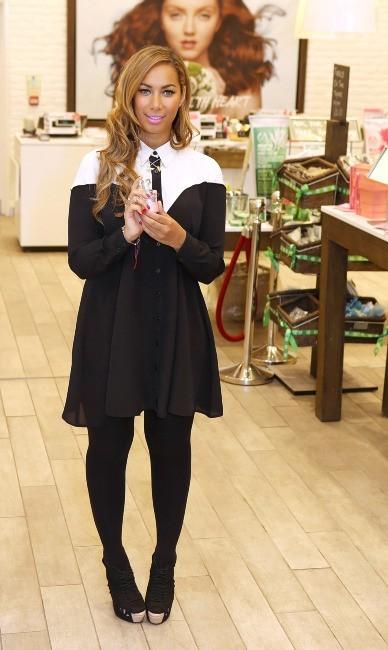 Leona Lewis, Londres, 27 mars 2013.