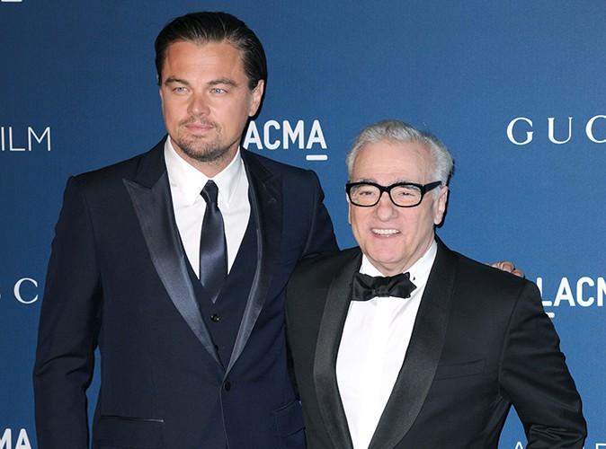 Leonardo DiCaprio et Martin Scorsese à Los Angeles le 2 novembre 2013