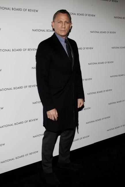 Daniel Craig le 8 janvier 2013 à New York