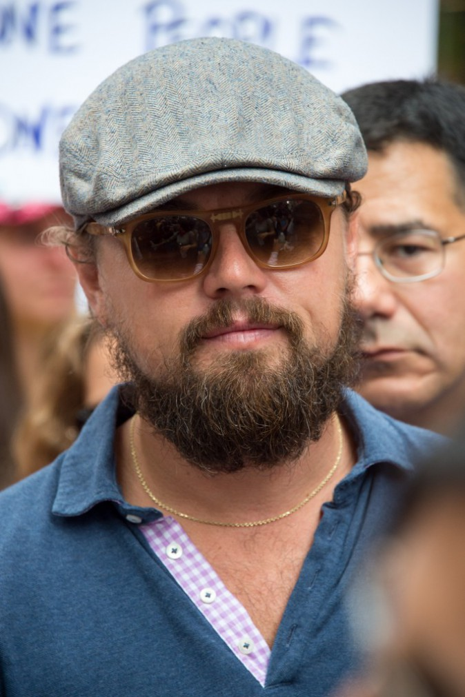 Photos : Leonardo DiCaprio : découvrez enfin la raison de sa barbe de bûcheron…
