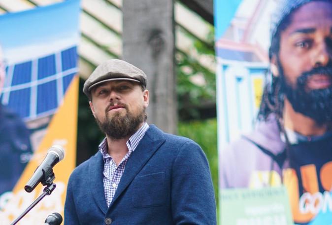 Photos : Leonardo DiCaprio : du 100% vert sinon rien !