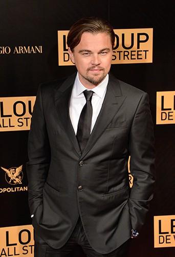 Leonardo DiCaprio à Paris le 9 décembre 2013