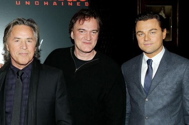 Leonardo DiCaprio et Quentin Tarantino le 11 décembre 2012 à New York