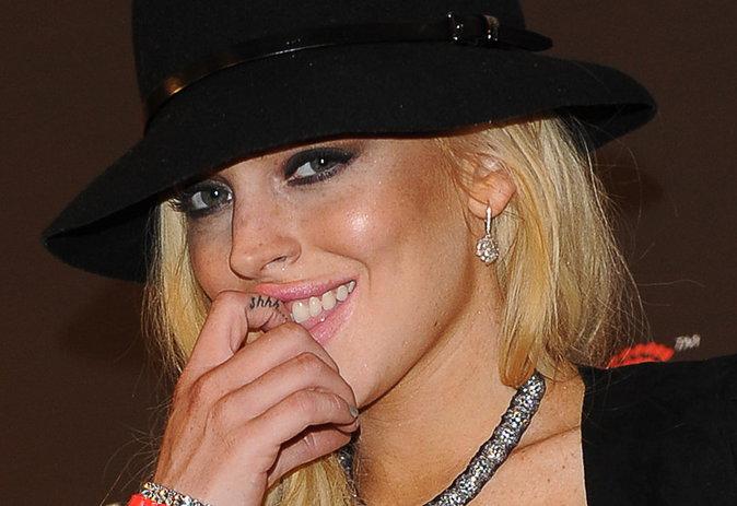 """Le """"Shhh"""" de Lindsay Lohan"""