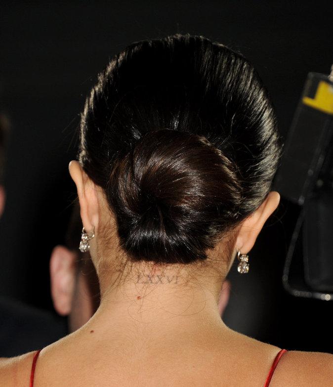 Les chiffres romains dans la nuque de Selena Gomez