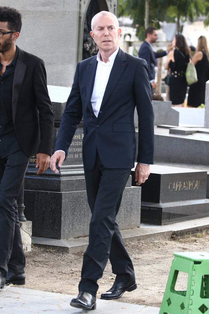 Jean-Claude Jitrois aux obsèques de Sonia Rykiel, le 1er septembre 2016