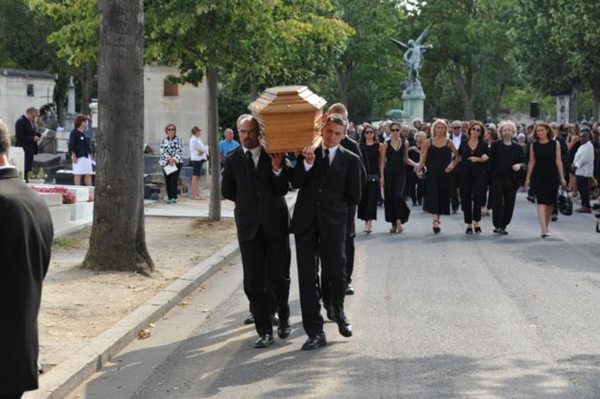 Les obsèques de Sonia Rykiel, le 1er septembre 2016