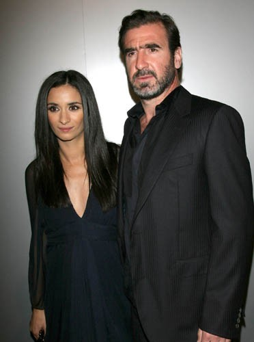 Eric Cantona with beautiful, Wife Rachida Brakni