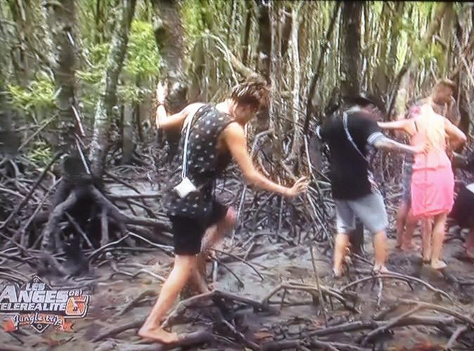 Session pêche dans la jungle, tout se passe bien !