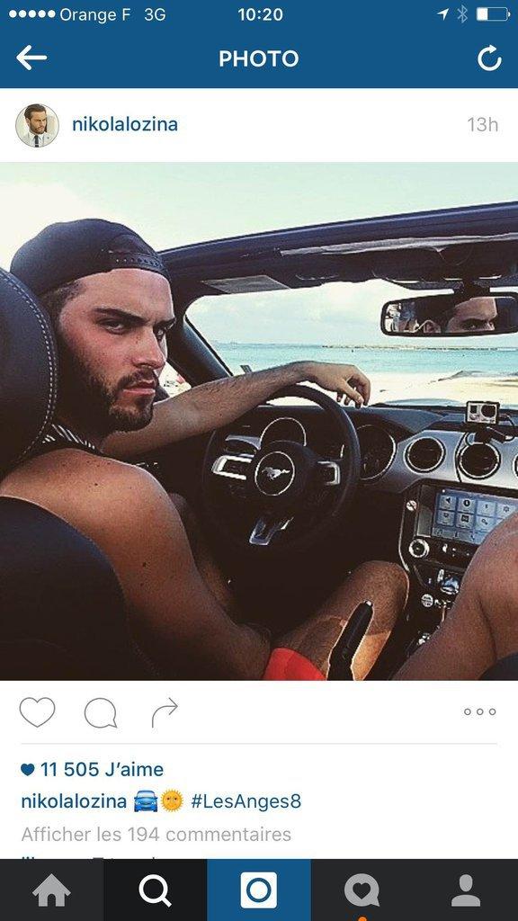 Nikolas le prince au volant