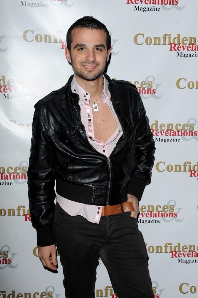 Benjamin Kalifa lors de la soirée de lancement du magazine Confidences et Révélations à Paris, le 29 décembre 2011.