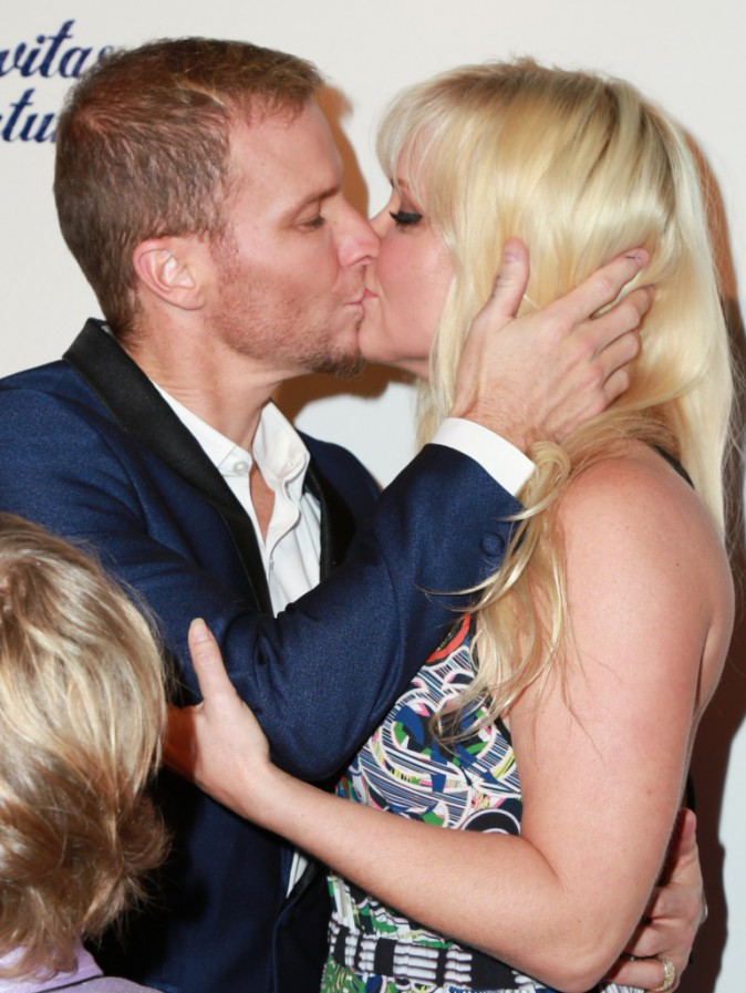 Brian Littrell et Leighanne Wallace le 29 janvier 2015