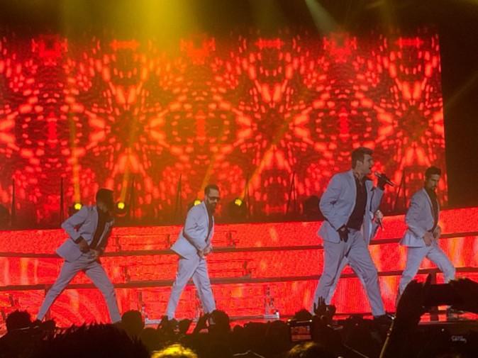 Les Backstreet Boys en concert au Zénith de Paris le 18 mars 2014