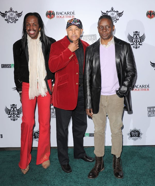 Earth, Wind and Fire lors du Peapod Benefit Concert au Music Box à Hollywood, le 10 février 2011.