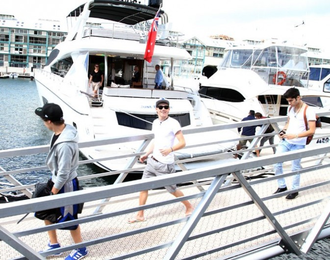 Les One Direction en vacances !