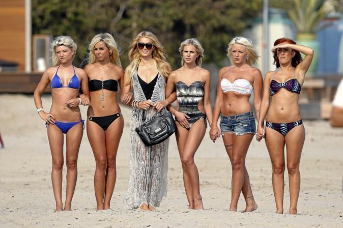 Les filles de la saison avec Paris Hilton, leur marraine !