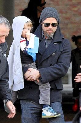 Photo : Brad Pitt et sa fille Shiloh
