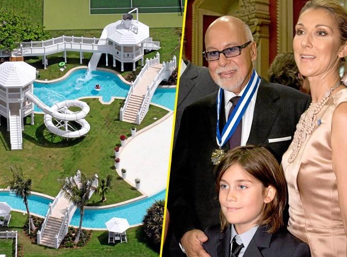 Photo : Céline Dion offre un parc aquatique à son fils René Charles