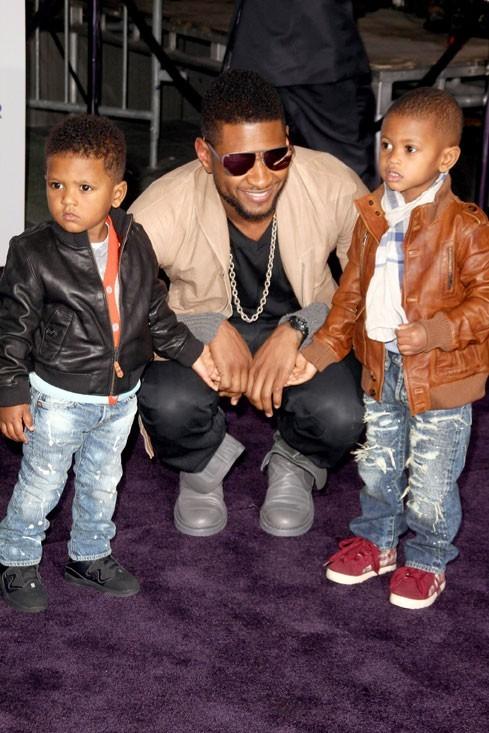 Photo : Usher Raymond V et Naviyd, les enfants d'Usher