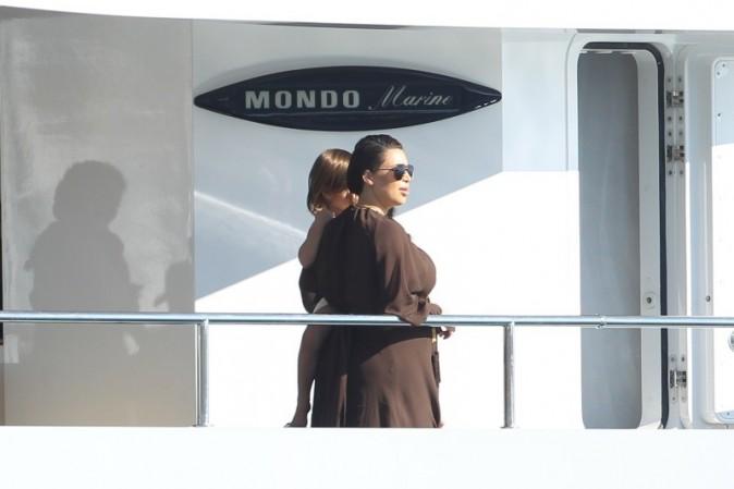 Kim Kardashian en vacances en Grèce