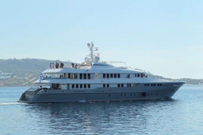 Le somptueux yacht des Kardashian