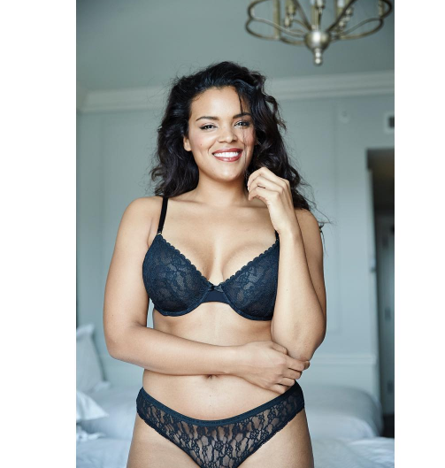 Yvonne Simone, mannequin grande taille